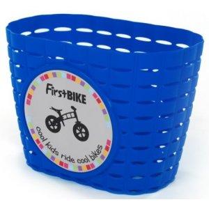 FirstBike Košík na řídítka Modrý