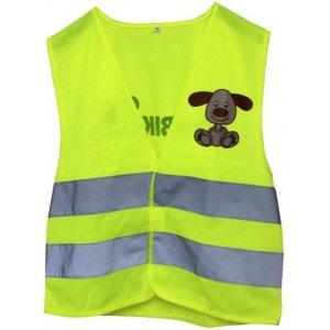 FirstBike Reflexní vesta Žlutá